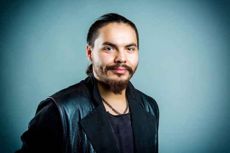 UP & COMING INDIGENOUS CHEF, GEORGE LENSER WANTS TO DO SOMETHING THAT REPRESENTS US NOW