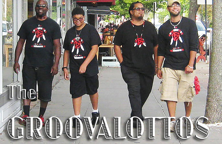 THE GROOVALOTTOS: NDN SOUL AND FUNKY BLUES