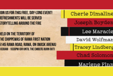 HCC Presents: Giiwenh, a First Nations' Literary Festival