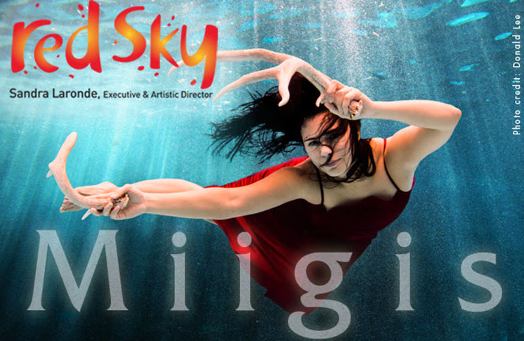 RED SKY PERFORMANCE WORLD PREMIERE OF MIIGIS
