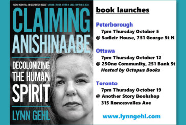 Book Release—Claiming Anishinaabe: Decolonizing the Human Spirit