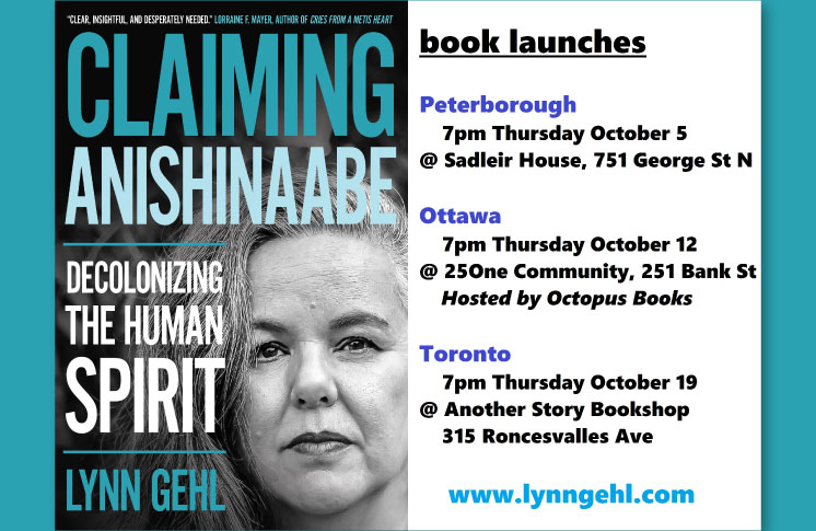 Book Release—Claiming Anishinaabe: Decolonizing the Human Spirit