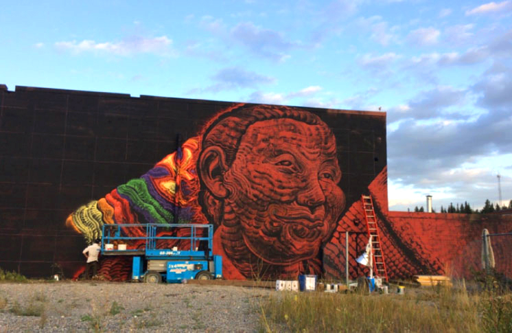ACAD Unites with the Bow Valley Murals Project