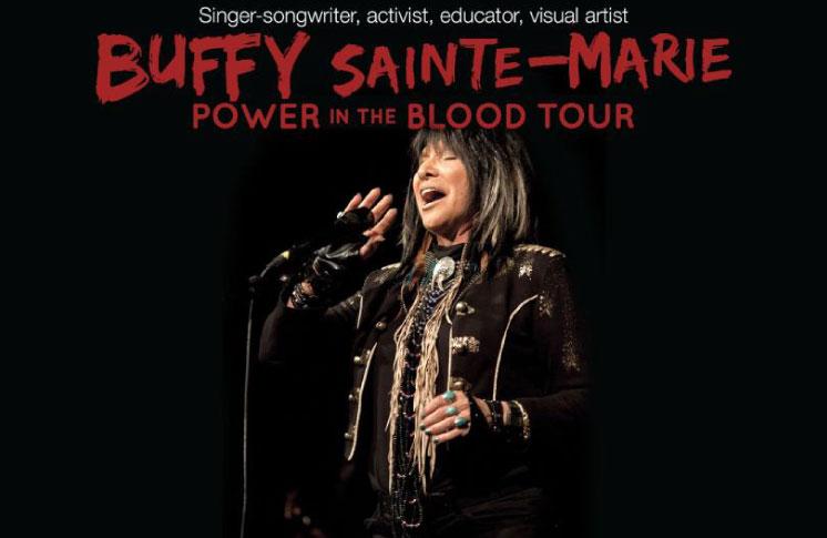 Living Arts Centre Presents: Buffy Sainte-Marie