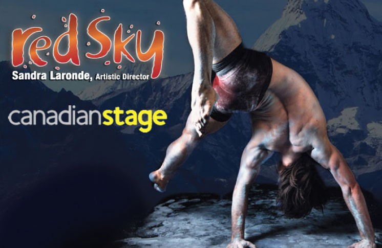 Red Sky Performance In Partnership with Canadian Stage Presents the World Premiere of BACKBONE November 2 – 12, 2017