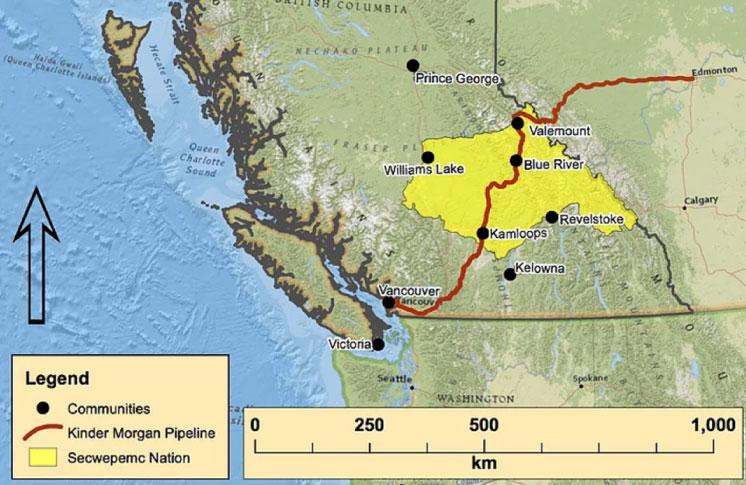 Indigenous-led report details new risks to Kinder Morgan pipeline