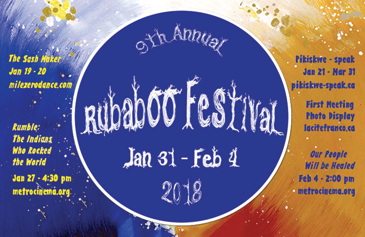 Alberta Aboriginal Performing Arts presents the 9th Annual RUBABOO FESTIVAL!