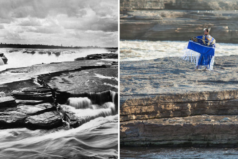 MAKING HISTORY RE-ASSERTING INDIGENOUS CEREMONY AT CHAUDIÉRE FALLS OTTAWA