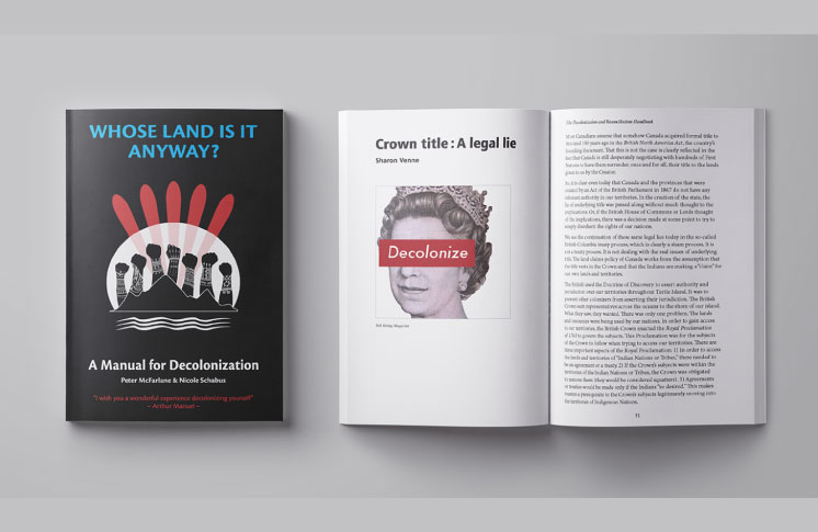 Whose Land Is It Anyway? A Manual for Decolonization to be Released in Print and as Free E-Book