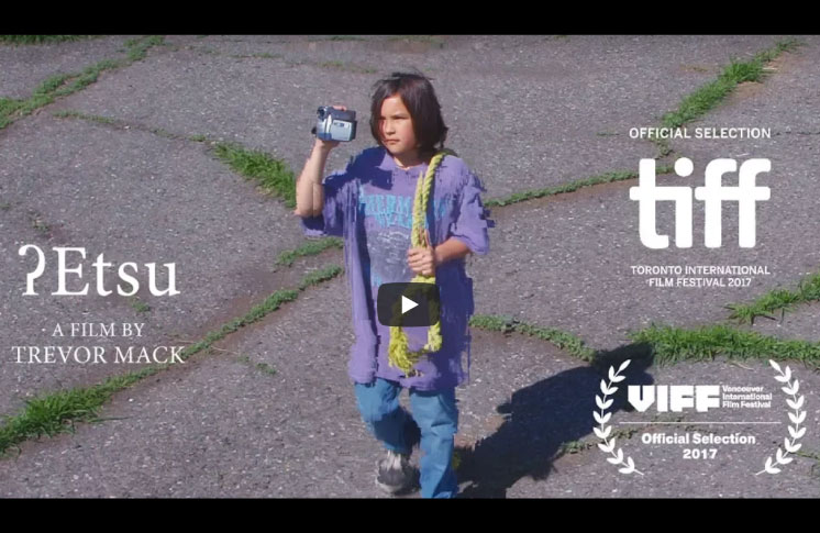 Award-winning Tsilhqot'in filmmaker Trevor Mack releases visually striking short film about child suicide online