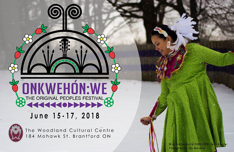 Onkwehón:we (The Original Peoples) Festival June 15 – 17, 2018
