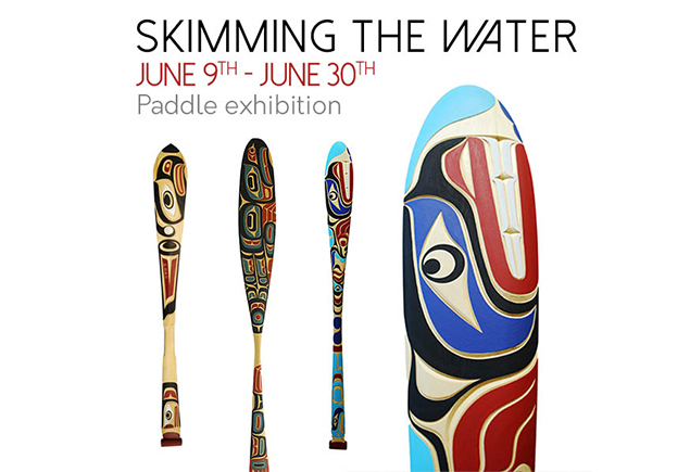 Skimming the Water: Paddle exhibition