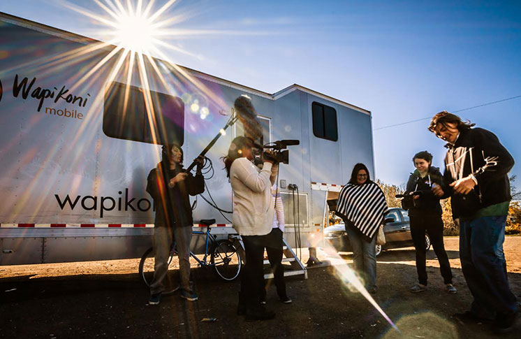 WAPIKONI'S 2018 SEASON BEGINS:  Wapikoni Mobile is back on the road, rolling towards Indigenous communities