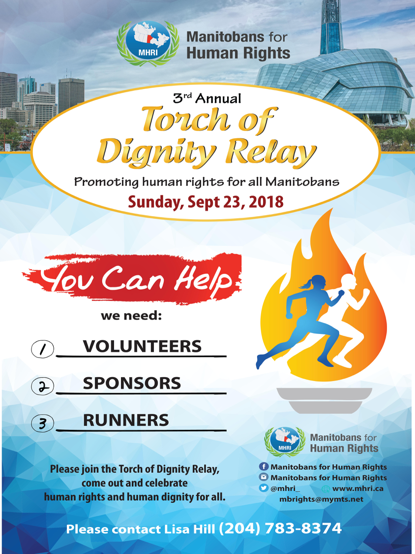 Torch of Dignity Relay