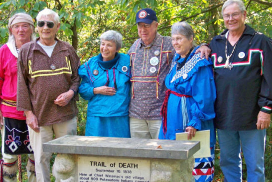 Trail of Death caravan will travel Sept. 17-22, 2018