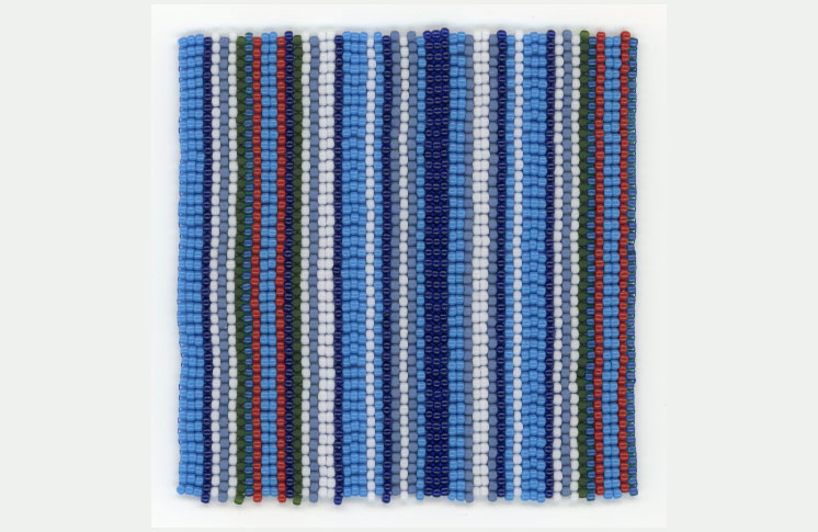 ff8e448326ba Textile Museum of Canada presents Beads, they're sewn so tight, an  exhibition