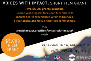 Voices With Impact: Short Film Grant, Mental Health Experiences Within Indigenous, First Nations, and Native American Communities