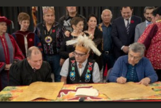 Algoma U, Shingwauk Education Trust and  Shingwauk Kinoomaage Gamig Reaffirm Covenant