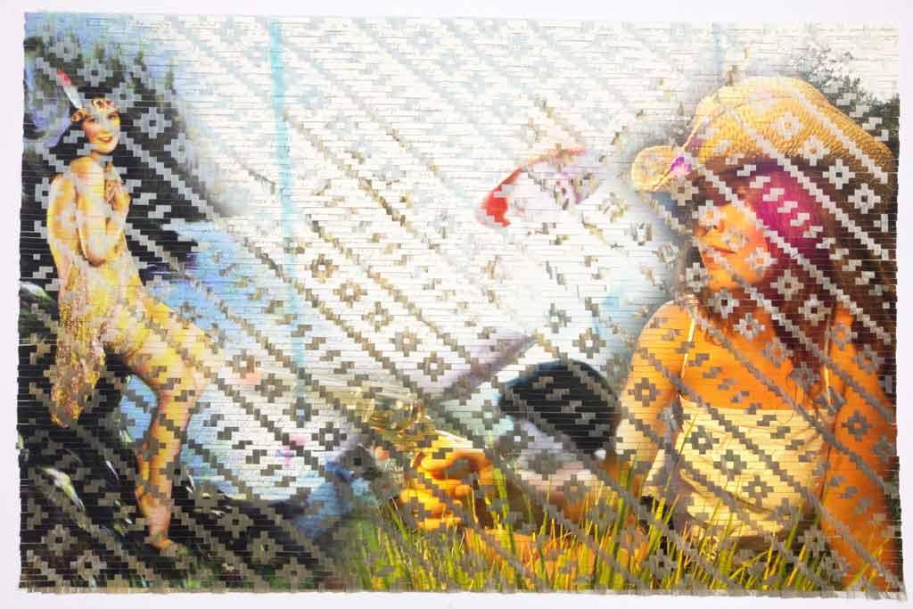 """Cowgirls and Indians"" Artist Sarah Sense"