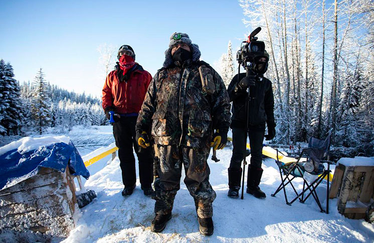 RALLIES PLANNED INTERNATIONALLY IN SUPPORT OF WET'SUWET'EN AND DENOUNCE STATE VIOLENCE ON UNCEDED TERRITORY