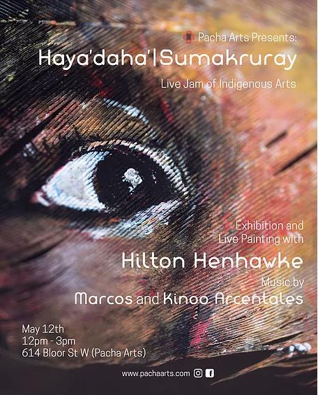 Hayá'daha' | Sumakruray: Live Painting at Pacha Arts