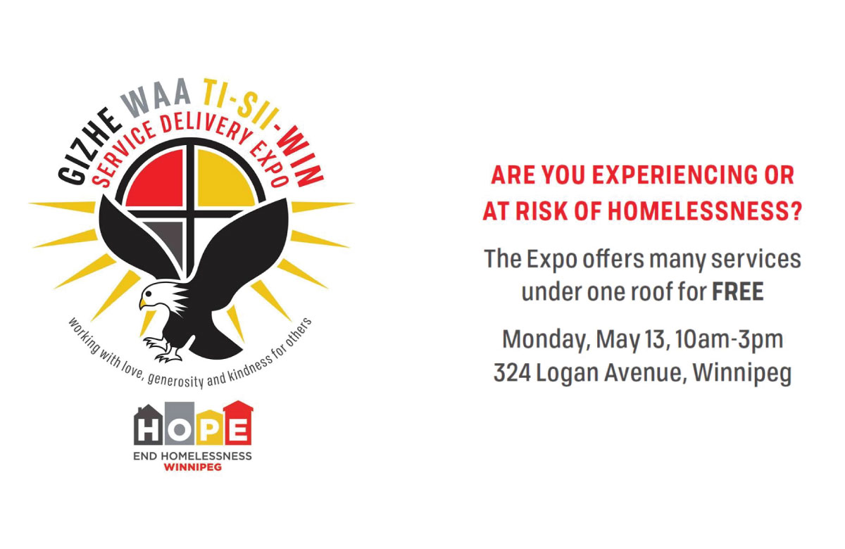 Gizhe Waa Ti-Sii-Win Service Delivery Expo: May 13, 2019