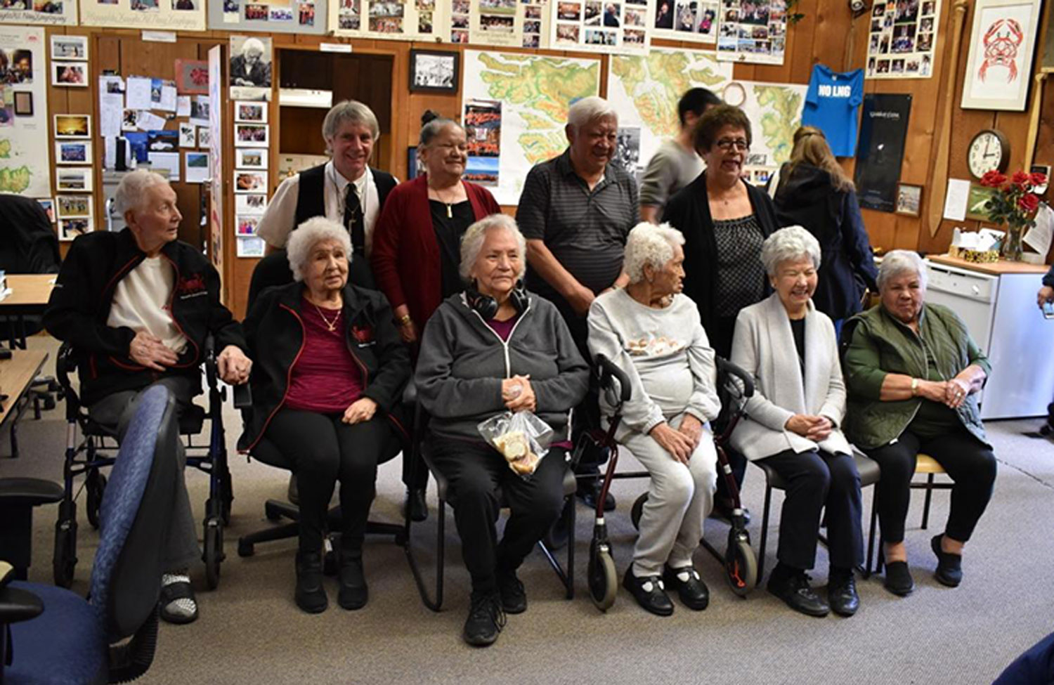 NINE HAIDA ELDERS RECEIVE VIU'S MOST PRESTIGIOUS AWARD FOR LANGUAGE AND CULTURE PRESERVATION