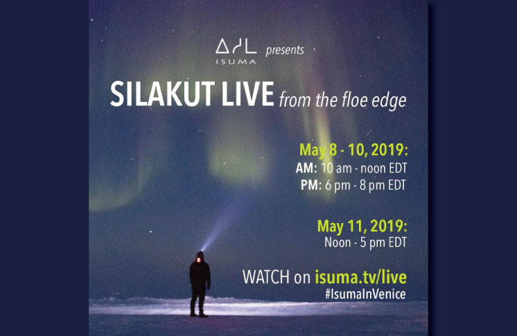 Isuma presents new project: Silakut Live from the Floe Edge