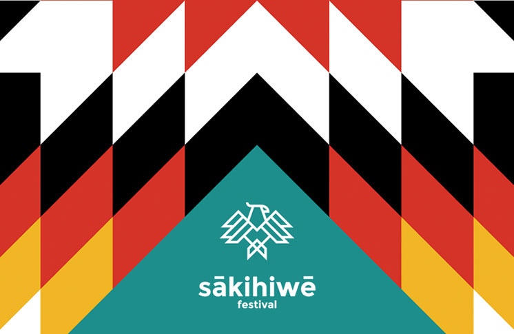sākihiwē festival 2019 lineup, June 14 - 16 in Winnipeg