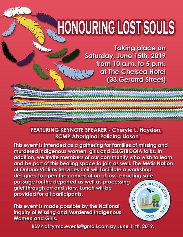 Honouring Lost Souls