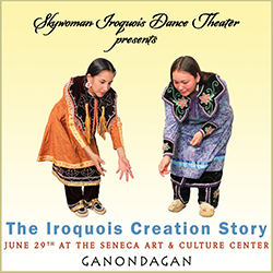 "Skywoman Theater's ""Iroquois Creation Story:"