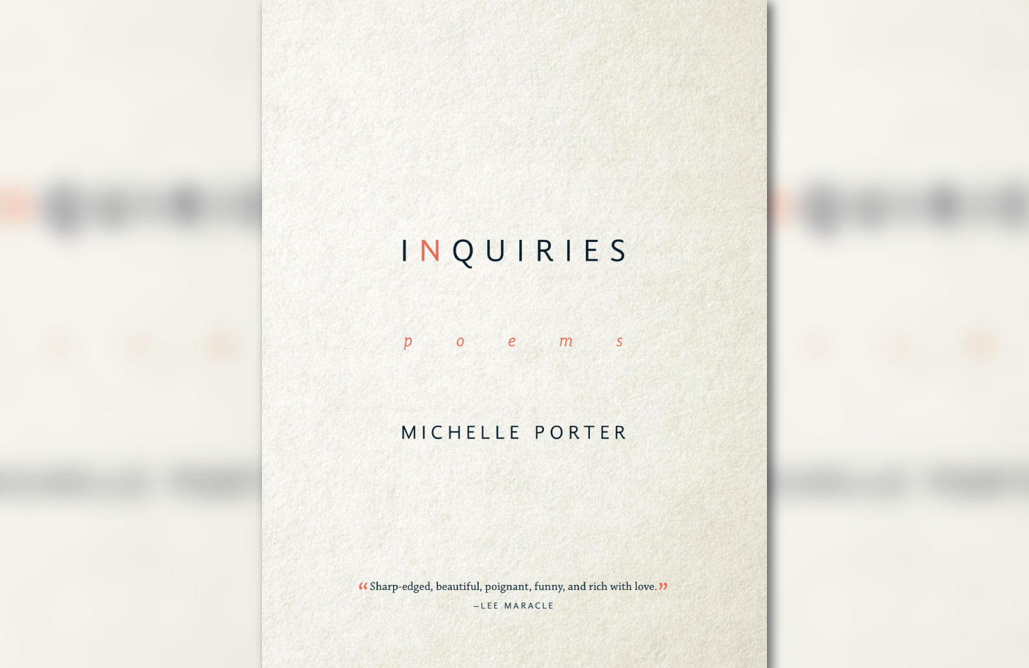 Book Review: 'Inquiries' by Métis Poet Michelle Porter