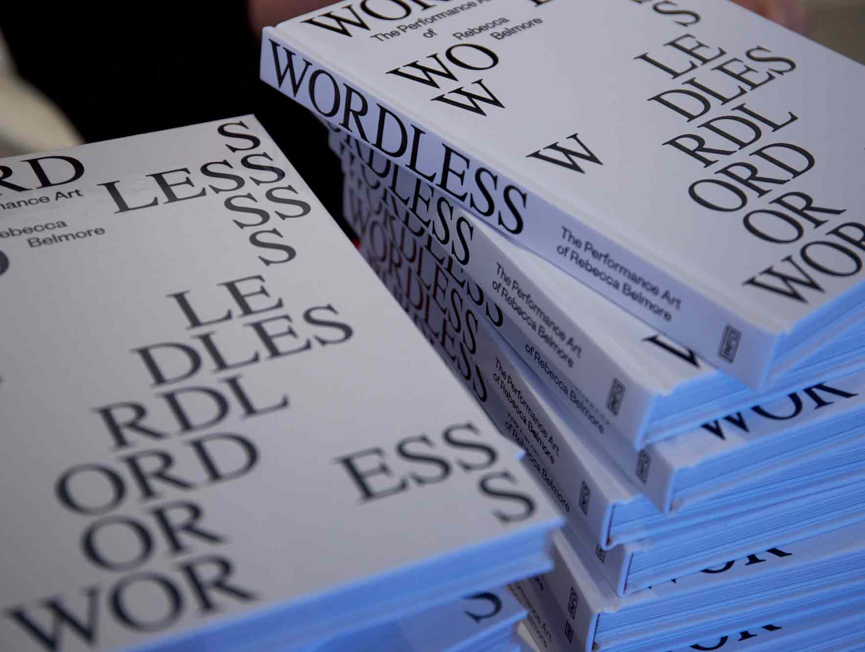 Book Launch!  Wordless – The Performance Art of Rebecca Belmore