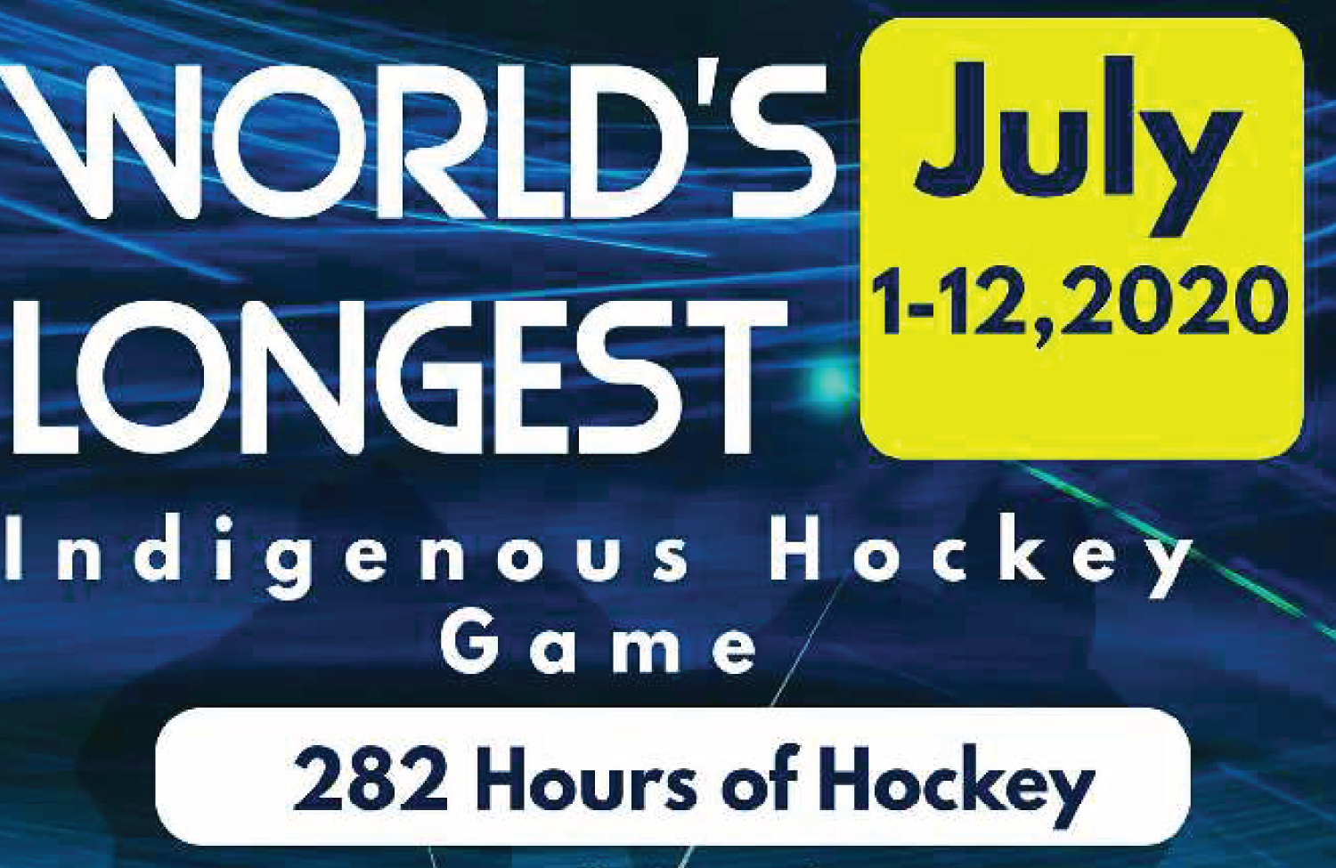 World's Longest Hockey Game Announces Recruitment Day