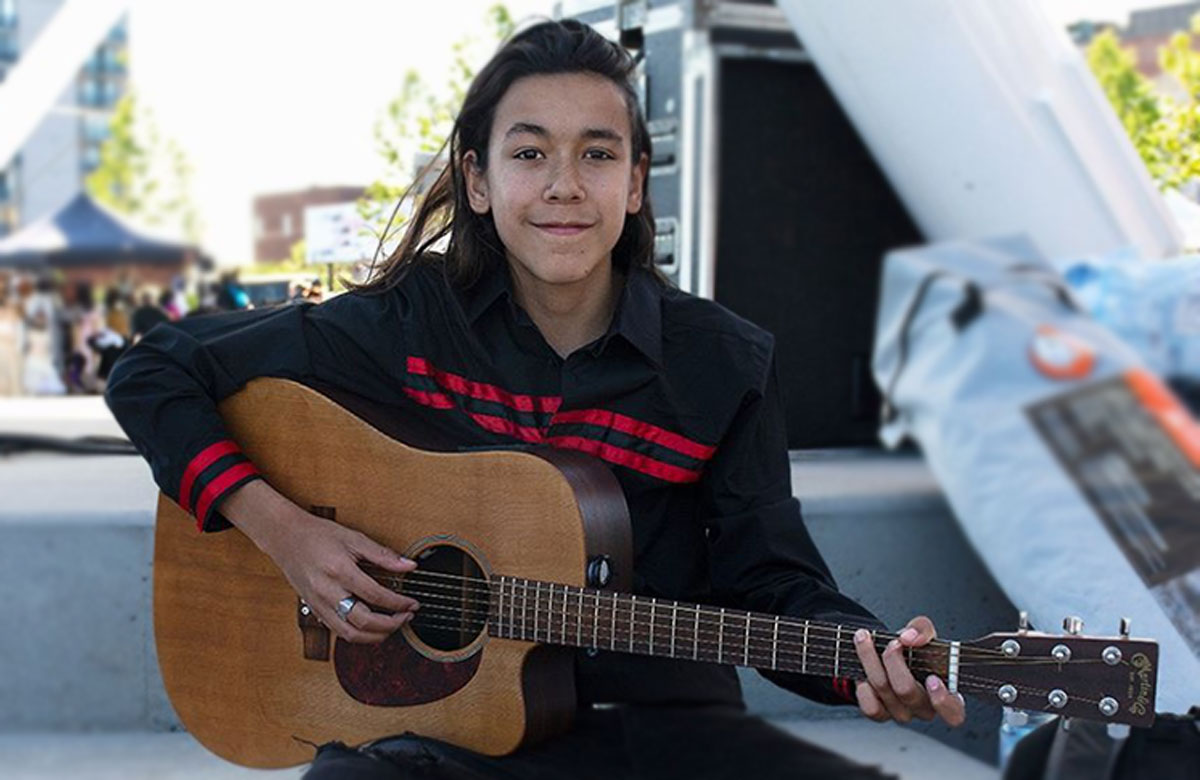 TEEN PERFORMER ZEEGWON SHILLING ON HIS LOVE OF MUSIC