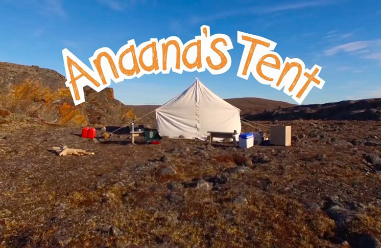 The second season of APTN's kids' series, Anaana's Tent, celebrates Inuit identity and the Inuktitut language.