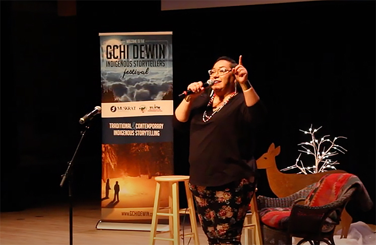 SASSY, BAD-ASSY, YET CLASSY: INDIGENOUS STAND-UP COMEDIAN STEPHANIE PANGOWISH