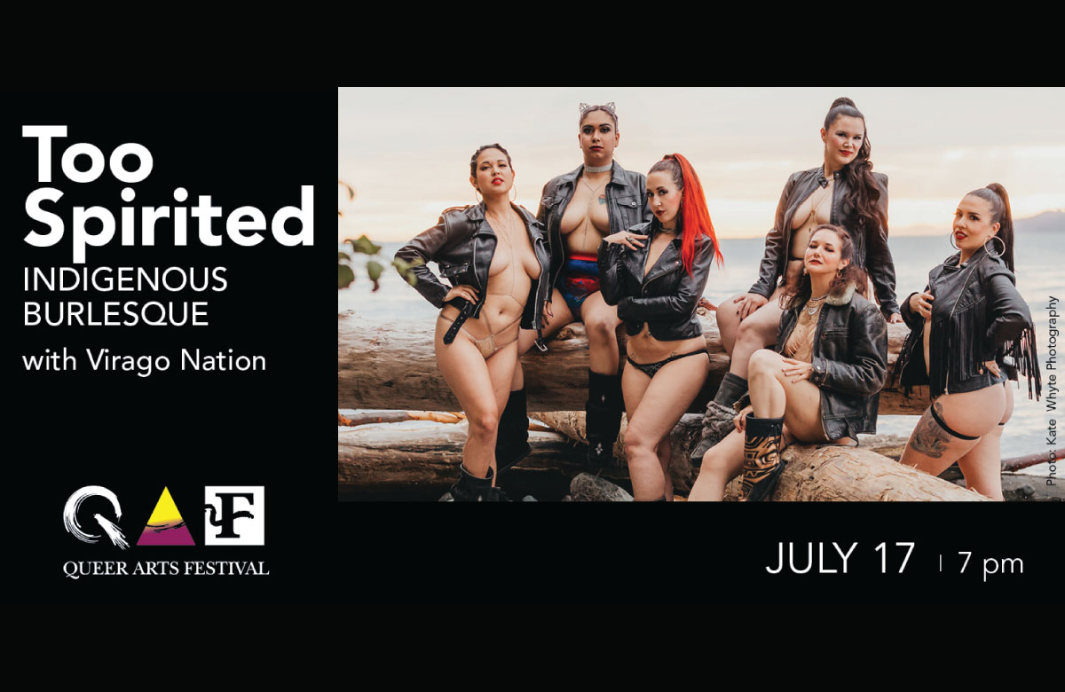 The 2020 Queer Arts Festival WICKED — Invasion of the Digi-Queers!