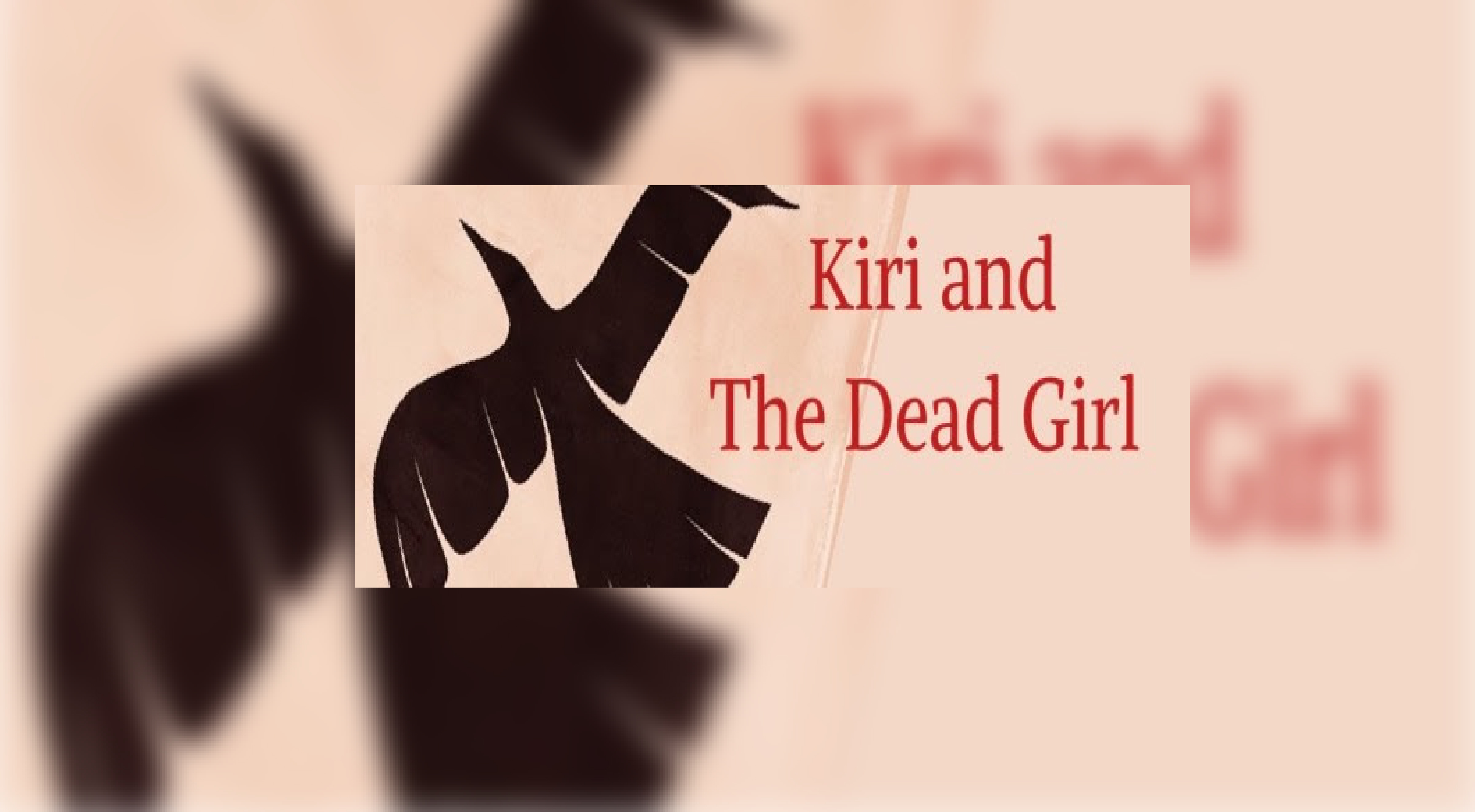 GRACE DOVE'S DIRECTORIAL DEBUT KIRI AND THE DEAD GIRL GOES TO CAMERA IN BC