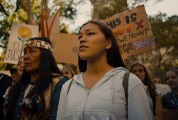 STEVIE SALAS ON THE WATER WALKER WITH INSPIRING YOUTH AUTUMN PELTIER