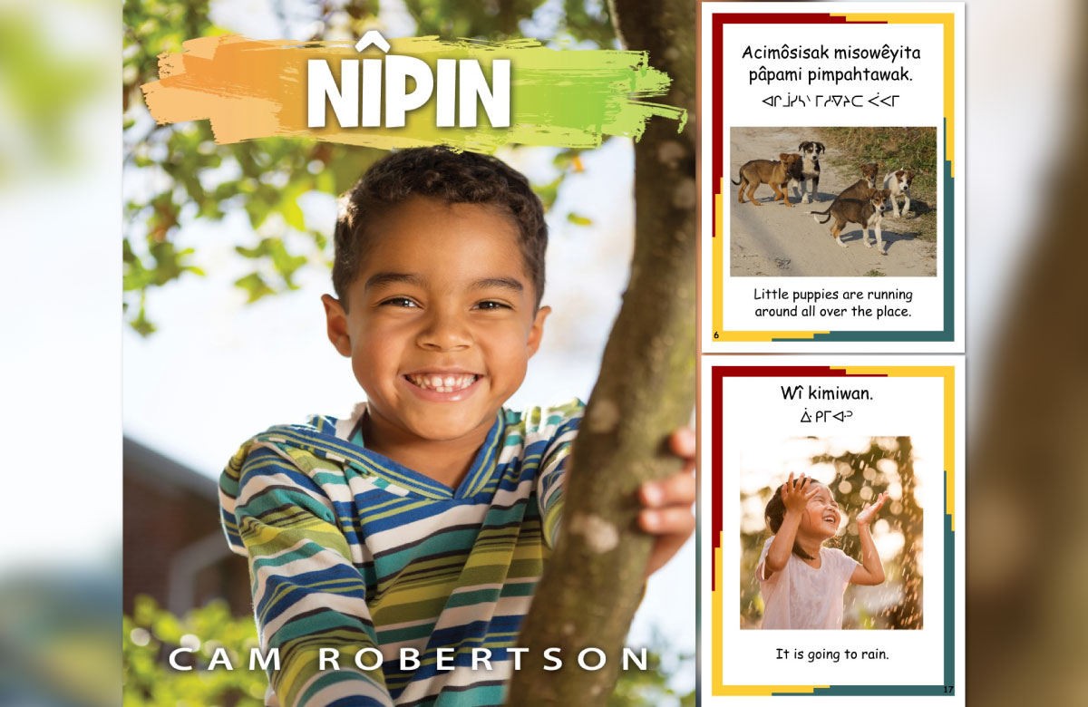 Goldrock Press Publishes New Indigenous Children's Book, 'Nîpin' by Cam Robertson