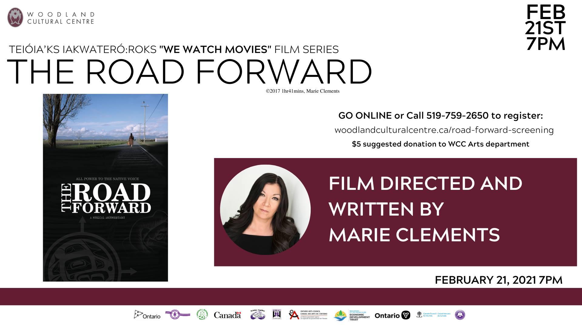 """The Road Forward"" Teioia'ks iakwatero:roks ""We Watch Movies"" Film Series"