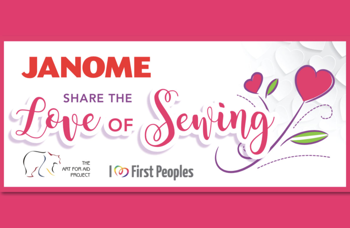 JANOME CANADA TO HELP CREATE SEWING SKILLS LABS IN REMOTE COMMUNITIES