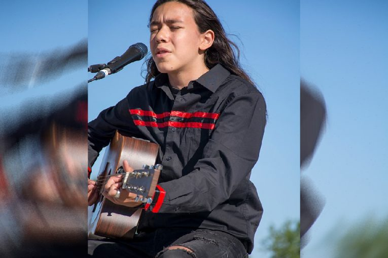 MUSKRAT'S FEATURE ARTIST ZEEGWON SHILLING COMPETING IN CBC MUSIC'S TOYOTA SEARCHLIGHT TALENT 2021