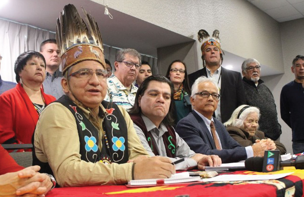 First Nations urge court to throw out Ontario's appeal of Robinson-Huron Annuities Case Robinson-Huron