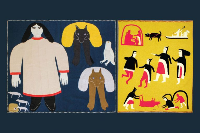 The Textile Museum of Canada and Toronto Biennial of Art present the exhibition Double Vision: Jessie Oonark, Janet Kigusiuq, and Victoria Mamnguqsualuk