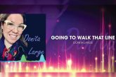 """Indigenous Blues Singer/Songwriter DONITA LARGE is """"Going To Walk That Line"""" with New Single"""